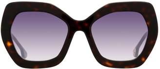 Alice + Olivia Dinah Geometric Sunglasses