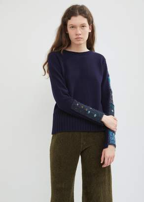 Antipast Patchwork Crewneck Sweater