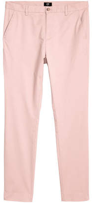 H&M Slim Fit Cotton Chinos - Pink