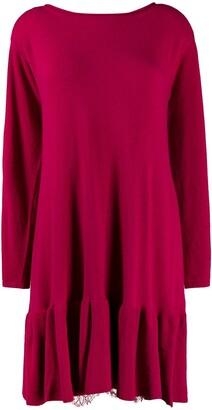 Twin-Set knit shift dress
