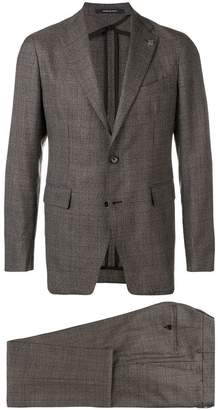 Tagliatore checked suit jacket