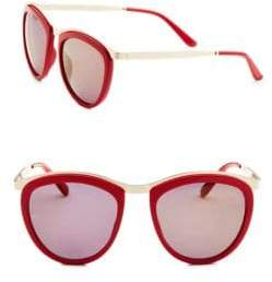 Womens 0DG2172 1298F6 Sunglasses, Mirror Red/Mirrorred, 51 Dolce & Gabbana