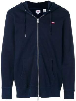 Levi's zip front hoodie