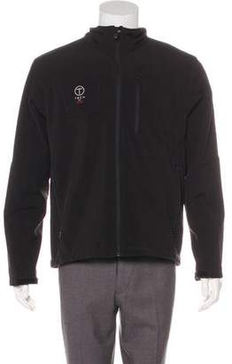 Tumi Mock Neck Zip Jacket
