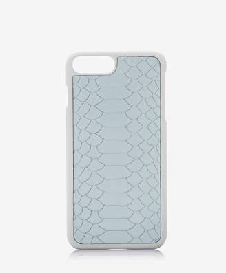 GiGi New York iPhone 7 Plus Hard-Shell Case, Almond Embossed Python