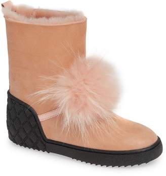 Sheridan Mia Toto Genuine Fox Fur Bootie