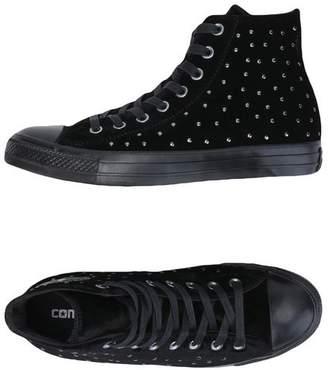 CT AS MID LUX VELVET STUDS - FOOTWEAR - High-tops & sneakers Converse eobgnYW60