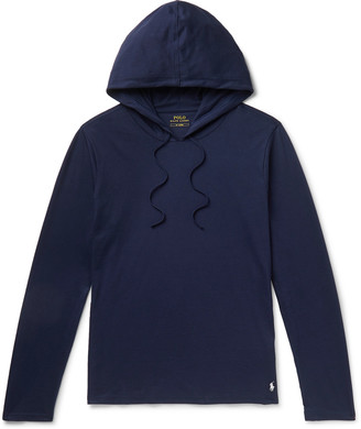 Polo Ralph Lauren Cotton-Jersey Hoodie - Men - Blue