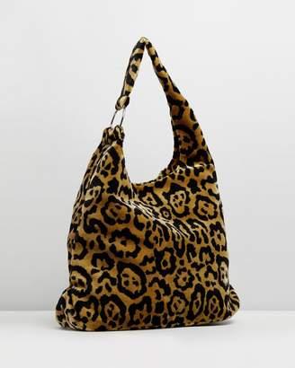 Topshop Kenya Leopard Print Tote Bag