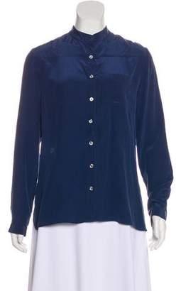 Mara Hoffman Silk Button-Up Top