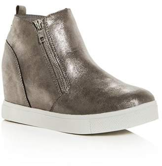 5f6f01e1877 Steve Madden Girls  JWedgie Hidden Wedge Sneakers - Little Kid