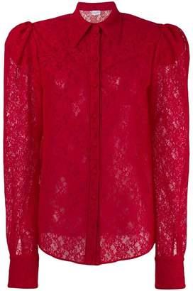 Magda Butrym longsleeved lace shirt