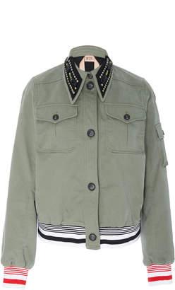 N°21 N 21 Goldie Embellished Collar Jacket