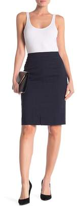 BOSS Valesana Wool Blend Pencil Skirt