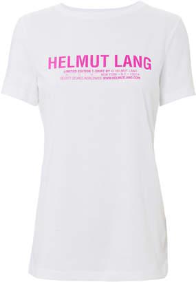 Helmut Lang Logo Baby Tee