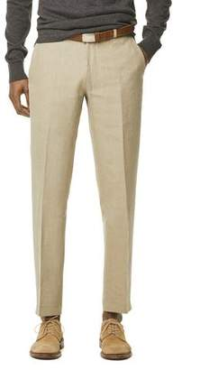 Todd Snyder White Label Linen Sutton Suit Trouser in Beige