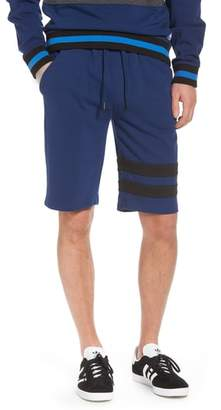 Calvin Klein Jeans Stripe Athletic Shorts