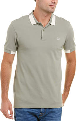 Fred Perry Tipped Pique Polo Shirt