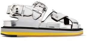 Maison Margiela Metallic-Leather Sandals