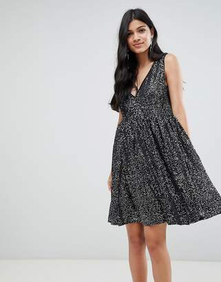 Deby Debo Techna Sequined Mini Dress