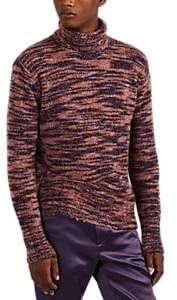 Sies Marjan Men's Mélange Wool-silk Turtleneck Sweater
