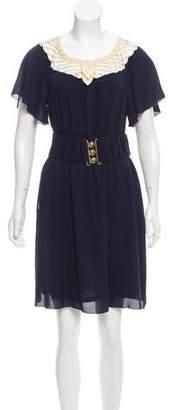 3.1 Phillip Lim Belted Silk Dress