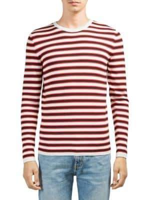 Saint Laurent Stripe Wool Sweater