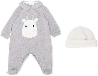 Il Gufo deer pajamas and hat set