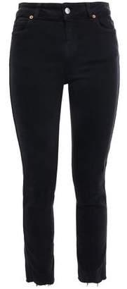 IRO Fragile Frayed Mid-rise Skinny Jeans