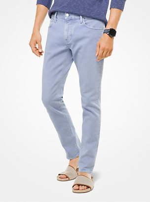 Michael Kors Parker Slim-Fit Stretch-Twill Jeans