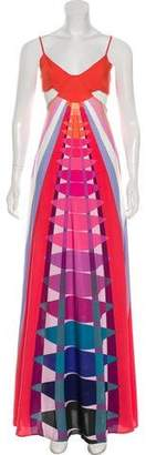 Mara Hoffman Cutout Printed Dress