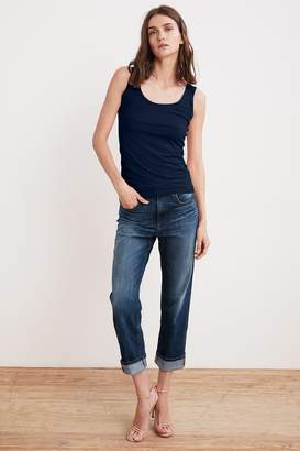 Velvet by Graham & Spencer JERRY HIGH RISE STRAIGHT CUFF JEAN