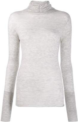 Patrizia Pepe fitted turtleneck jumper