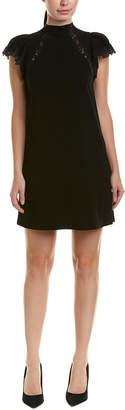 Rebecca Taylor Crepe Shift Dress