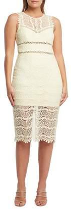 Bardot Mariano Lace Sheath Dress