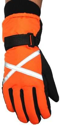 ShiningLove Men Warm Windproof Ski Gloves Outdoor Sports Winter Comfortable Snowboard Gloves