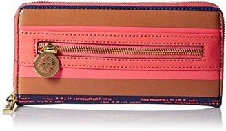Anne Klein Double Time Zip Around SM Wallet $40 thestylecure.com