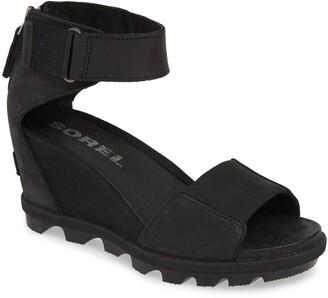 d50652e87 Sorel Joanie II Ankle Strap Wedge Sandal