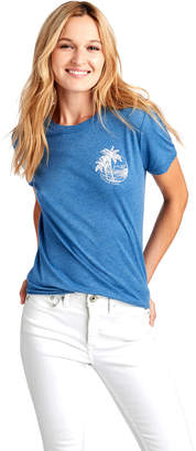 Vineyard Vines Palm Tree Ringer Tee
