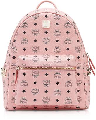 MCM Soft Pink Small-Medium Stark Backpack