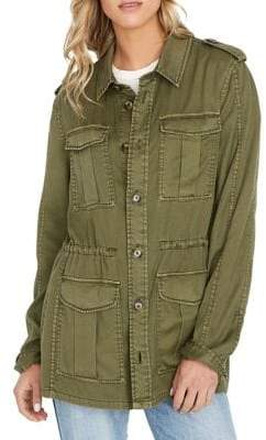 Buffalo David Bitton Squad Military Jacket