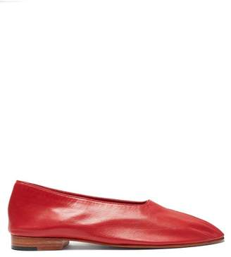 Martiniano Glove Leather Pumps - Womens - Red