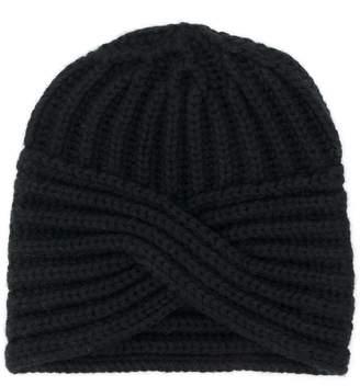 Fine Edge turban-style hat
