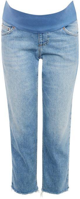 TopshopTopshop Maternity raw hem straight leg jeans