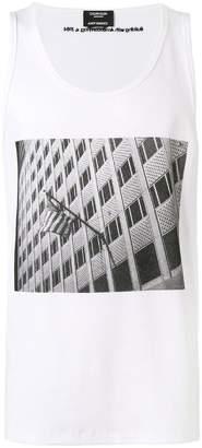 Calvin Klein X Andy Warhol American flag print tank top