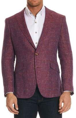 Robert Graham Jeremy Multicolor Tweed Two-Button Jacket