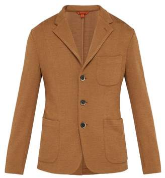 Barena venezia Venezia - Toreco Single Breasted Jersey Blazer - Mens - Beige