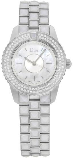 Christian Dior Christian Dior Christal CD112118M003 Stainless Steel & Diamonds Quartz 28mm Womens Watch