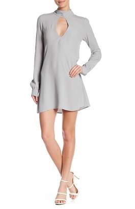 Flynn Skye Leah Choker Neck Mini Dress