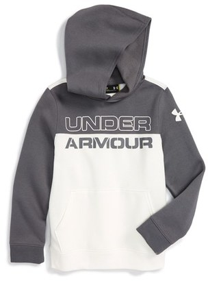 Boy's Under Armour 'Sportstyle' Logo Graphic Coldgear Hoodie $44.99 thestylecure.com